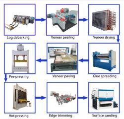 Vollständiger Wiremesh Furnierholz-Produktionszweig Furnier-Blatt, das Maschinerie herstellt