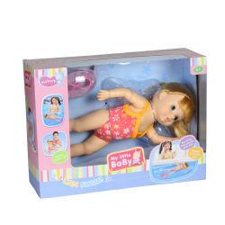 13 polegada B/S bonecas do bebé com óculos de natação e calçado