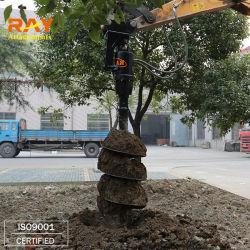 Zappatore del foro di alberino del trivello della coclea di terra dei collegamenti del raggio per l'escavatore