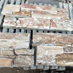 SMC-CC158 China amarelo dourado peitoril de ardósia natural Stone