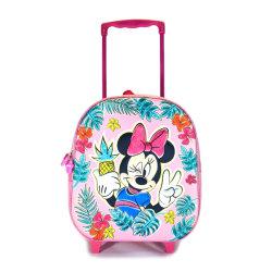 """Il sacchetto di banco del carrello per bambini della ragazza 13 """" ha spinto lo zaino di Minnie"""