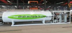 20000 litros de 10 toneladas de gas LPG móvil de la estación de llenado de planta de llenado del cilindro de gas para África