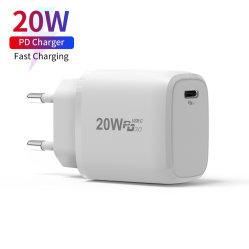 ミニ USB-C PD 20W 高速アダプタタイプ C PD 20W 壁面 iPhone 12 for iPad 用充電器