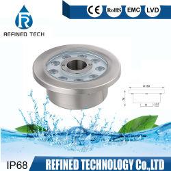 Продажи на заводе под руководством фонтаном лампа LED подводный прожектор 12V