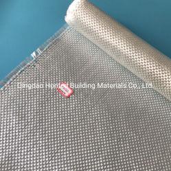 Torcitura tessuta vetro della fibra di vetro del tessuto normale E per la mano posta sul crogiolo di strato di FRP