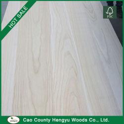 Venda por grosso de madeira Paulownia Plank para mobiliário em madeira Bed