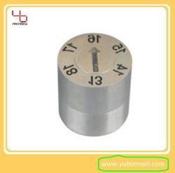 Il bollo di data di plastica dello stampaggio ad iniezione di precisione della muffa per la data dello stampaggio ad iniezione inserisce la data di giorno di mese di anno che fa i bolli di data di Pin /Changeable delle parti della muffa