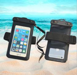 Bolsa de telefone à prova de PVC Saco seca a fita desportiva para o iPhone X 8 8 e 7 7 Plus 6 6s 6 Plus