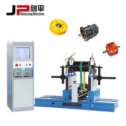 Rotor triturador de difícil equilibrio dinámico de cojinete de la máquina