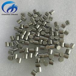 금속 증발 물질 Dia6X6mm 3X3mm 니켈 니켈 니켈 니켈 니켈 니켈 니켈 니켈 금속