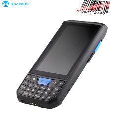 Código de barras inalámbrico móvil de mano de Android OS 7.0 de escáner láser 1D Teclado numérico el GPS Pantalla táctil WiFi 802.11abgn 3G&4G PDA