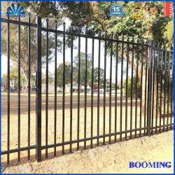 ISO9001/Australia/2.1*2.4/Galvanized Stahlstangen-Oberseite-Zaun-Aluminiumzaun für Garten/Haus/Schule/Fabrik