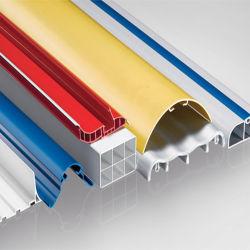 Extrusion de plastique PVC personnalisé les profils Les profils de lanterne de toiture en chambre froide