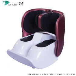Складные колебания с подогревом воздуха икроножной мышцы ног сжатия ножной массажер