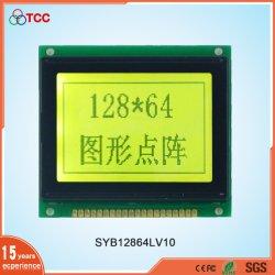 Het openlucht Industriële Scherm 128X64 Grafische Stn/de Positieve van de Vertoning Ks0107controller Kleine 128*64 LCD Module van het Comité 20pins