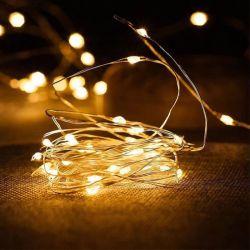 Decoratie van het Huis van het Huwelijk van Kerstmis van de Slinger van Kerstmis van het Koord van LEDs de Lichte Lichte