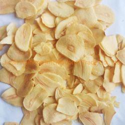 Fabricante de melhor qualidade de ar de sabor forte e fatias de alho desidratado em pó