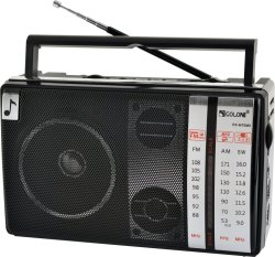 FM/AM/SW 3 bandes radio portable avec batterie rechargeable USB/TF//haut-parleur Bluetooth
