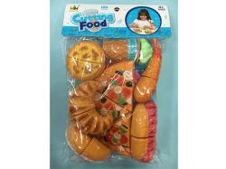 Alimentos Simulational jugar Cut Toy Envasado en bolsas de PVC H8316122
