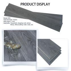 klikt de Beste Waterdichte Prijs van 4mm 5mm 6mm de Houten Bevloering van SPC van de Kern van de Steen van de Textuur Plastic Samengestelde Stijve Vinyl