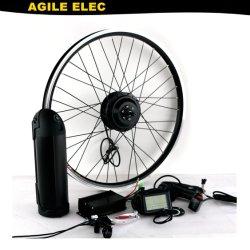 Гибкие 350W E комплект для переоборудования велосипеда с 10,4 ah литиевой батареей