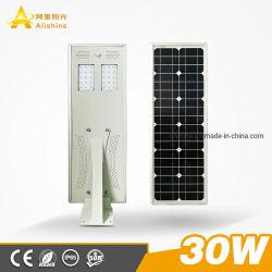 IP65 في الهواء الطلق All in One Solar Street Lamp السعر 30 واط متكامل