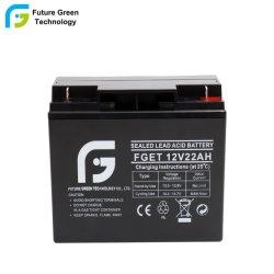 Accumulateur de stockage à faible taux de décharge batterie plomb-acide 12V 22Ah