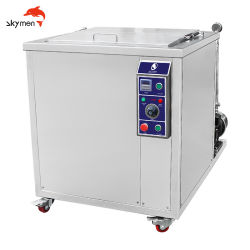 جهاز تنظيف الأجزاء فوق الصوتية الصناعي سعة 96 لتر مع سلة من الفولاذ المقاوم للصدأ