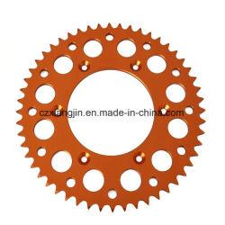 Ktm Alunimiun 7075t6 алюминия CNC Задняя звездочка цепи