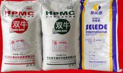 CAS 9004-65-3 HPMC Calidad de construcción utilizados en el mortero de cemento, yeso, en la pared de nivelación automática de masilla, como los aditivos químicos