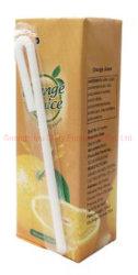 Tetra Pack de 250 ml de zumo de naranja natural
