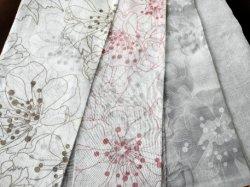 Новая конструкция 100% полиэстер домашний текстиль Долли чисто напечатано шторки ткань