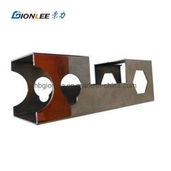Corte láser personalizado de tubos rectangulares de acero inoxidable