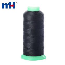 210d/2 черный кабального нейлоновые 6.6 кабального нейлоновые швейных резьба для обуви из натуральной кожи