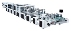 Geschwindigkeit einstellbar hohe Effizienz V Boden Papierbeutel, die Maschine, scharfe Boden Papierbeutel, die Machine2-4 Farben in der Linie CE Approved V Boden Papierbeutel Maki