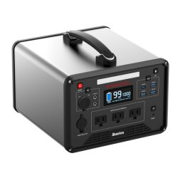 La sortie AC DC Onde sinusoïdale pure pour l'alimentation de la station de la Banque de Camping Station d'alimentation portable 1000W