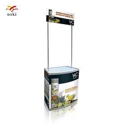 A impressão de ABS PP Piscina Supermarke Stall Promoção Disdplay Tabela promocional do contador