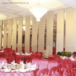 Muro divisorio mobile acustico pieghevole resistente al fuoco per la sala per conferenze