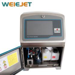 Сенсорный экран постоянно струйного принтера Tx600 6 строк печатной машины промышленного струйный принтер для PE/подушки безопасности