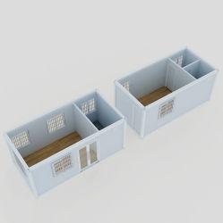 Flat Pack de lujo tipo contenedor Modular Casa contenedor prefabricado Lavadero en venta