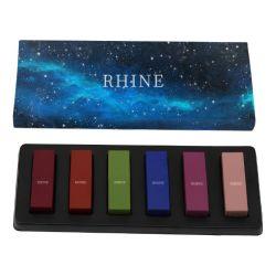 De Kosmetische Privé Vrije Schoonheidsmiddelen van uitstekende kwaliteit van de Wreedheid van de Lippenstift van het Etiket 6PCS Vastgestelde