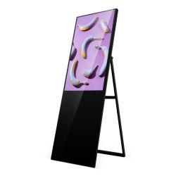 Portable 50 Polegadas Visor Digital Signage Visor LCD de Publicidade