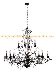 Металлические цветы люстра лампа (WHG-9115)