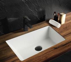 """Articles sanitaires en céramique blanche rectangulaire Undermount 20 5/8 """" Salle de bains de lavage de la vanité du bassin du dissipateur"""