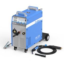 Keygroe All-in-One ingebouwd type brede spanning 1p/3p 220/380/415/440V MIG/mag/MMA Industrial Inverter-lasmachine met trolley (MIG-350K)