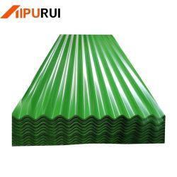 1050 1060 толщина 0.12мм, 0,1мм, 0,15мм Гальванизированных Corrugate алюминиевый лист