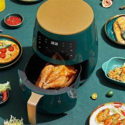 Рекламные возможности 4.5liter Обжаривайте картофель фри 1450W цифровое управление фритюрницы воздуха