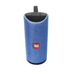 Haut-parleur Bluetooth sans fil portable original TG113, l'appui TF/USB/FM/mains libres/AUX/élingue