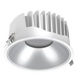COB rebaixada iluminação ocultado comerciais Anti Glare 15W LED de luz para baixo