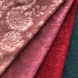 Black-out de poliéster de tejidos de tapicería de muebles cortinas cortinas de tela